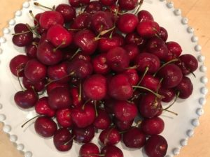 Fresh Bing Cherries from Lodi