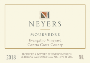 Neyers 2018 Mourvedre 'Evangelho Vineyard'