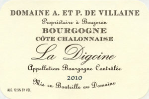 2017 Bourgogne Rouge 'La Digoine' from A&P deVillaine