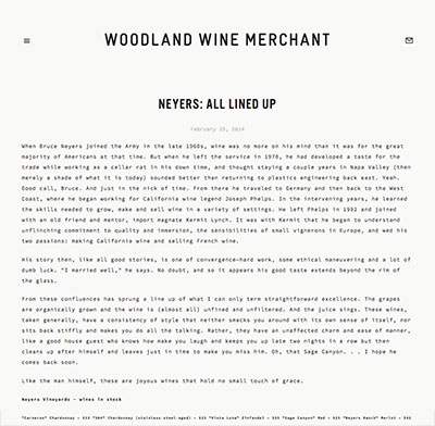 Woodland Wine Merchant