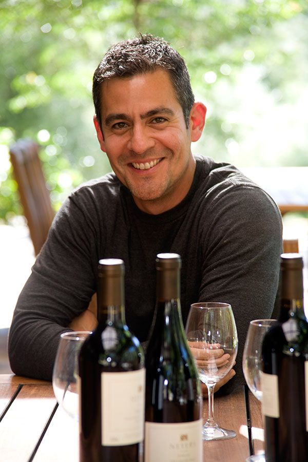 Winemaker Tadeo Borchardt