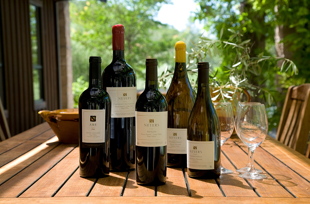 Neyers Vineyards Wine Portfolio